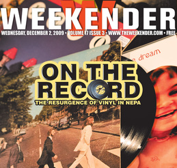 weekender donna vinyl cover story