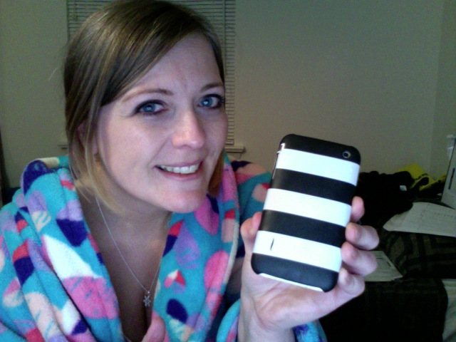donna_holding_sephora_iphone_case