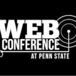 web conference at penn state logo