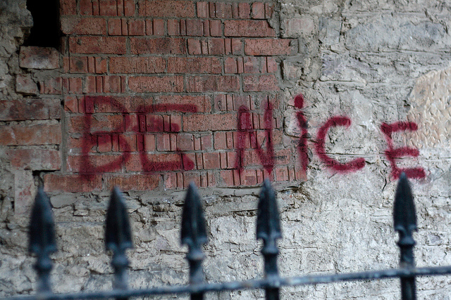 be nice spray painted